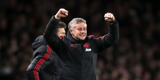 Check out this victory! Solskjær and United with a new performance