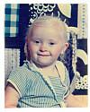 IKKE ANNERLEDES: Hanne Aarstad ble født med downs, men ville ikke være en som var annerledes.  Foto: Privat