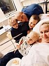 BEHCETS SYNDROM: Helene er alvorlig syk med Behcets sykdom. Selv om hun visste at det var risikabelt å bli gravid, valgte hun likevel å få tre barn. FOTO: Privat