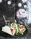 TACO: Karamelliseringen gjør kyllingen smaksrik og gir fin overflate. FOTO: Kirsi-Marja Savola